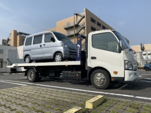 福祉車両の納車