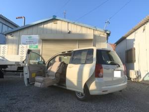 トヨタ ラウム 助手席リフトアップシート車 成約済み