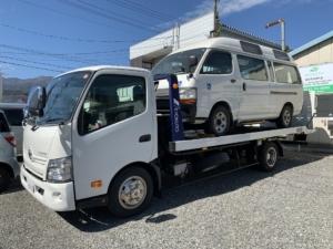 ハイエース 4WD 車いすリフト車の福祉車両の買取をしました!