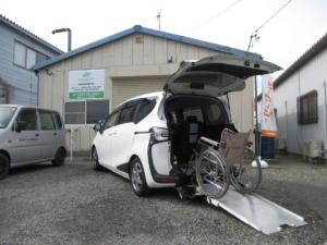 トヨタ シエンタ 1.5XVパッケージ ウェルキャブ 車いす仕様Ⅰ2ndシート無 トヨタセーフティセンス搭載車 成約済み