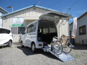 ダイハツ アトレーワゴン フレンドシップ スローパー SAⅢ リヤシートレス仕様車 折り畳み補助シート付 4WD